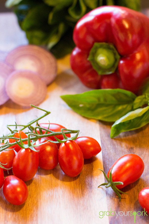 Fresh Ingredients for Linguine