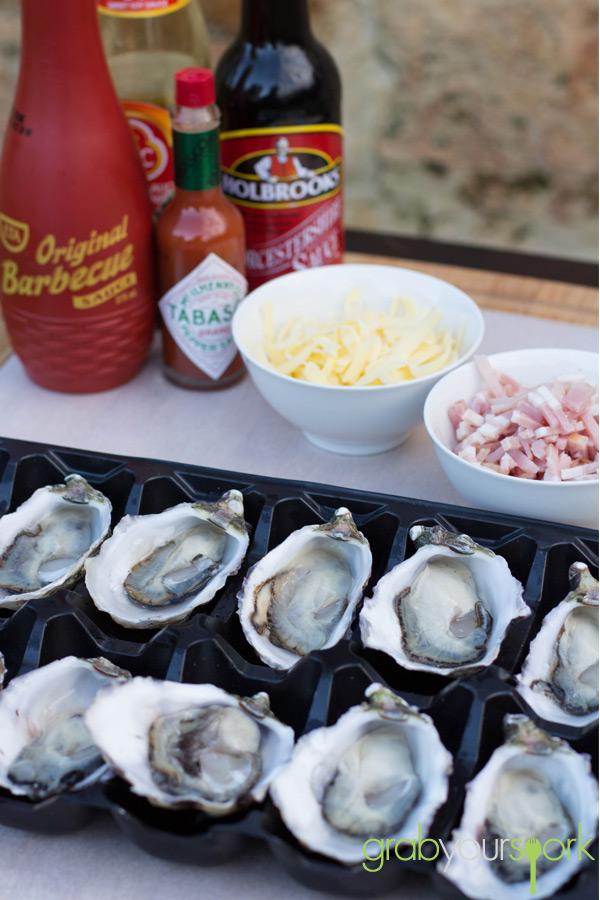 Oysters Kilpatrick Ingredients