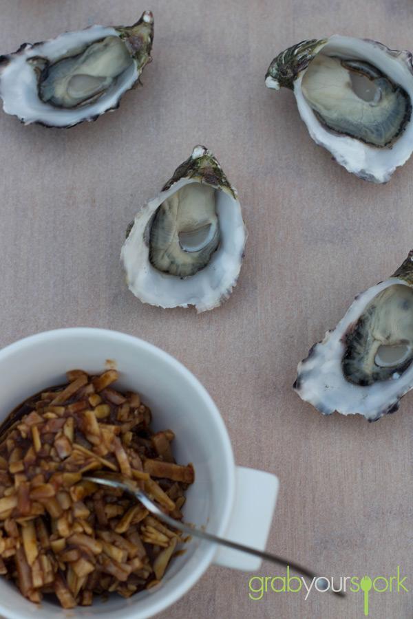 Australian Oysters Kilpatrick