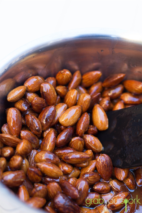 Honey Ginger Almonds