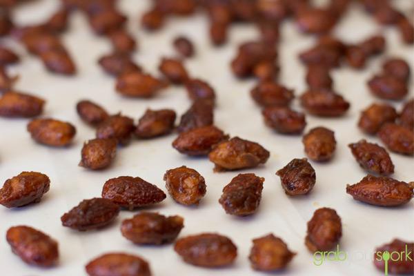 Honey Ginger Almonds