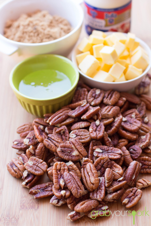 Pecan Slice Ingredients