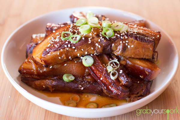 Slow Cooker Asian BBQ Pork Ribs