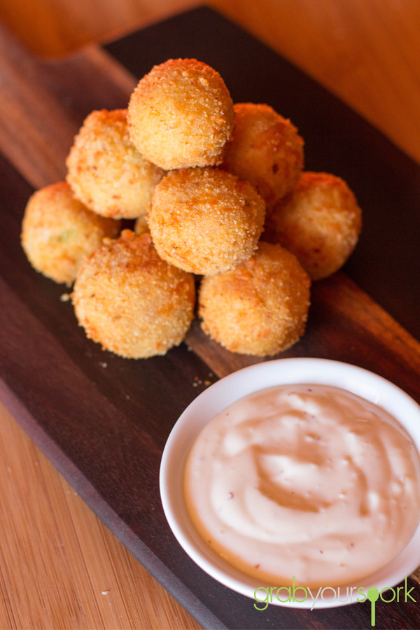 Ham and cheese croquettes Recipe