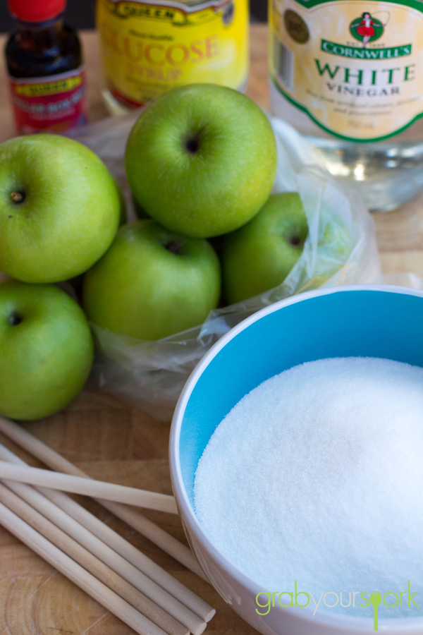 Toffee apples ingredients