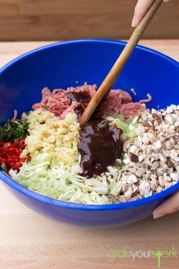 Pork Gyoza Mixture