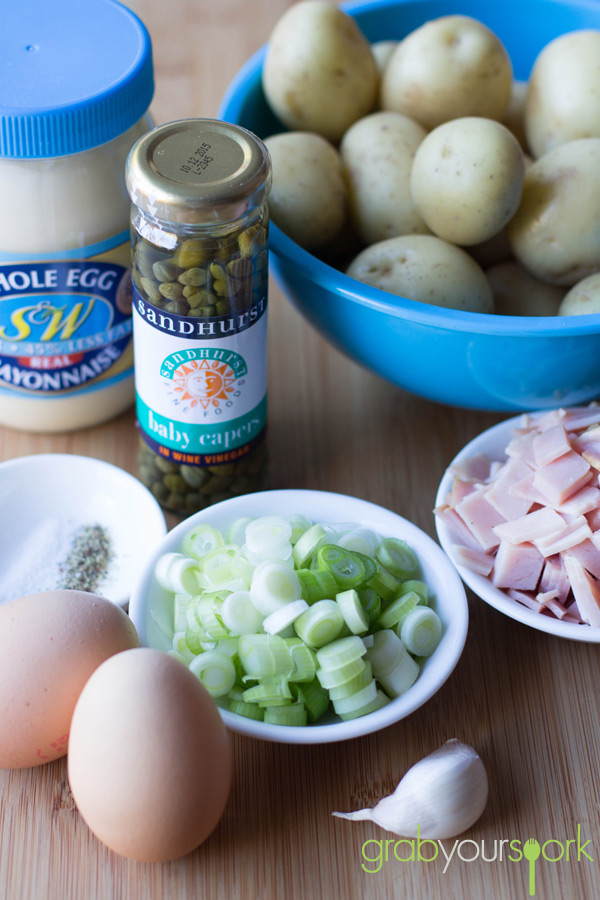 Simple Potato salad Ingredients