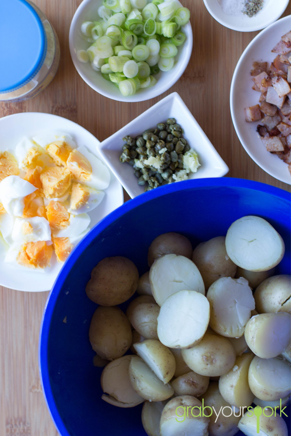 Simple Potato salad recipe