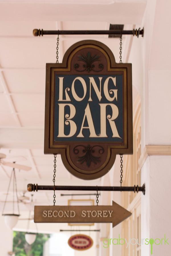 Long Bar Raffles Hotel Singapore