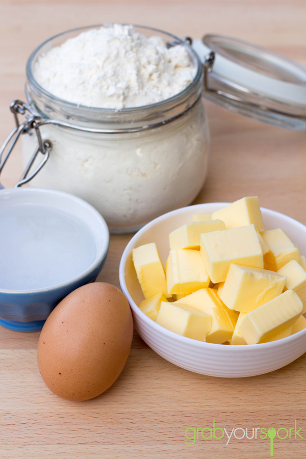 Tart Pastry Ingredients