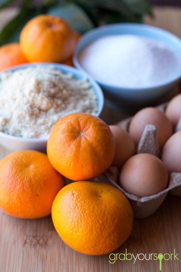 Clementine Cake Ingredients