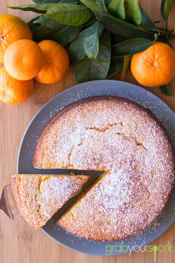 Clementine Cake - Grab Your Spork | grabyourspork.com