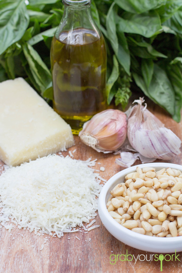 Basil Pesto Recipe Ingredients