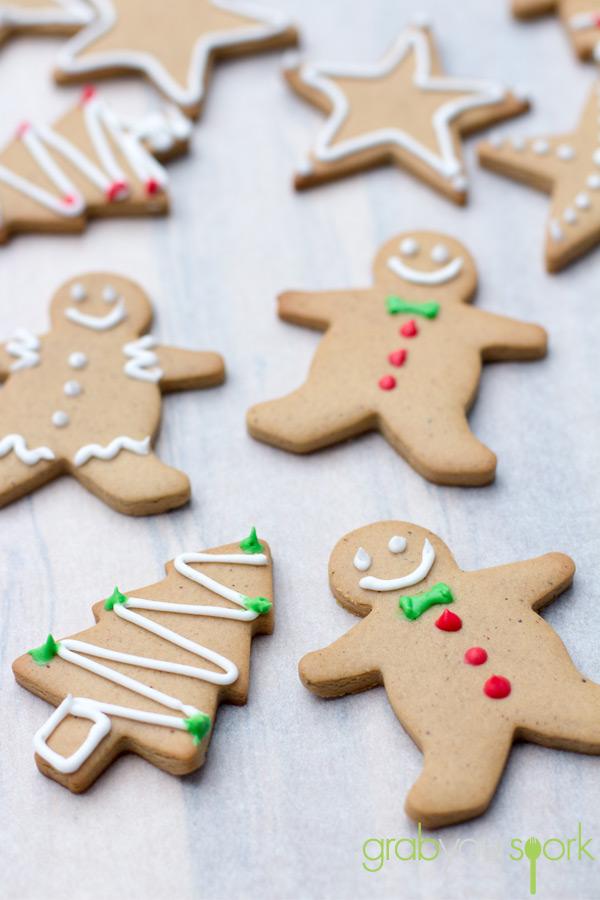Simple Gingerbread Cookies Grab Your Spork
