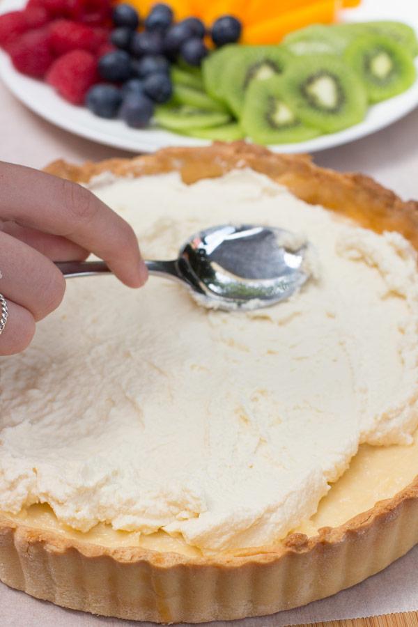 Custard and Fruit Tart