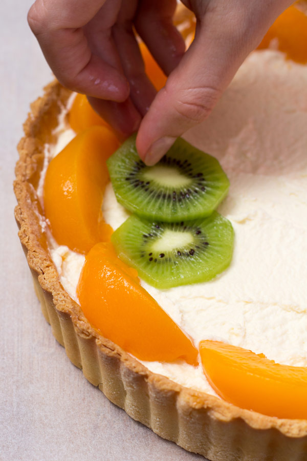 Fresh Fruit and Custard Tart