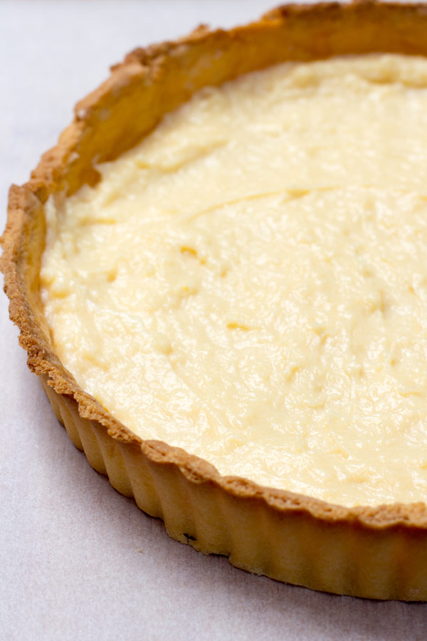 Fruit and Custard Tart Recipe