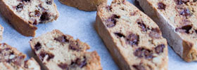 Choc Chic coffee biscotti
