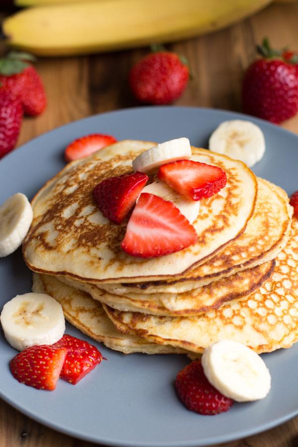 paleo coconut flour pancake recipe