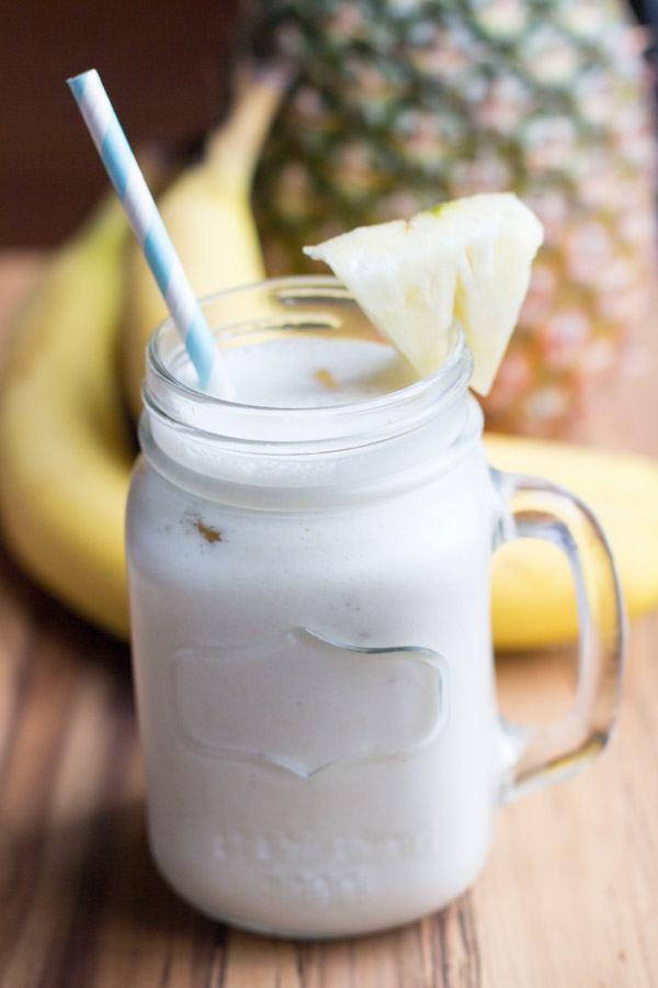 Banana pineapple smoothie recipe